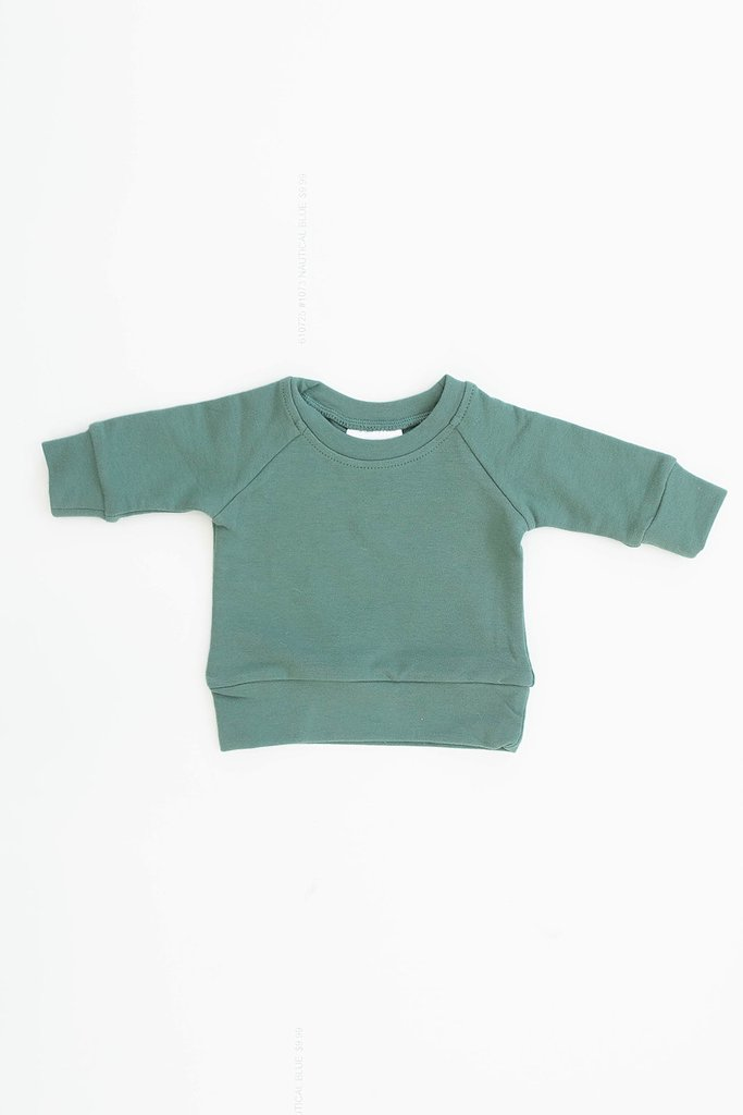 Jade French Terry Crew Neck Sweatshirt