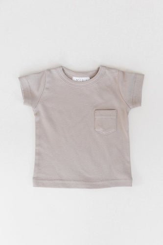Ash Cotton Pocket Tee