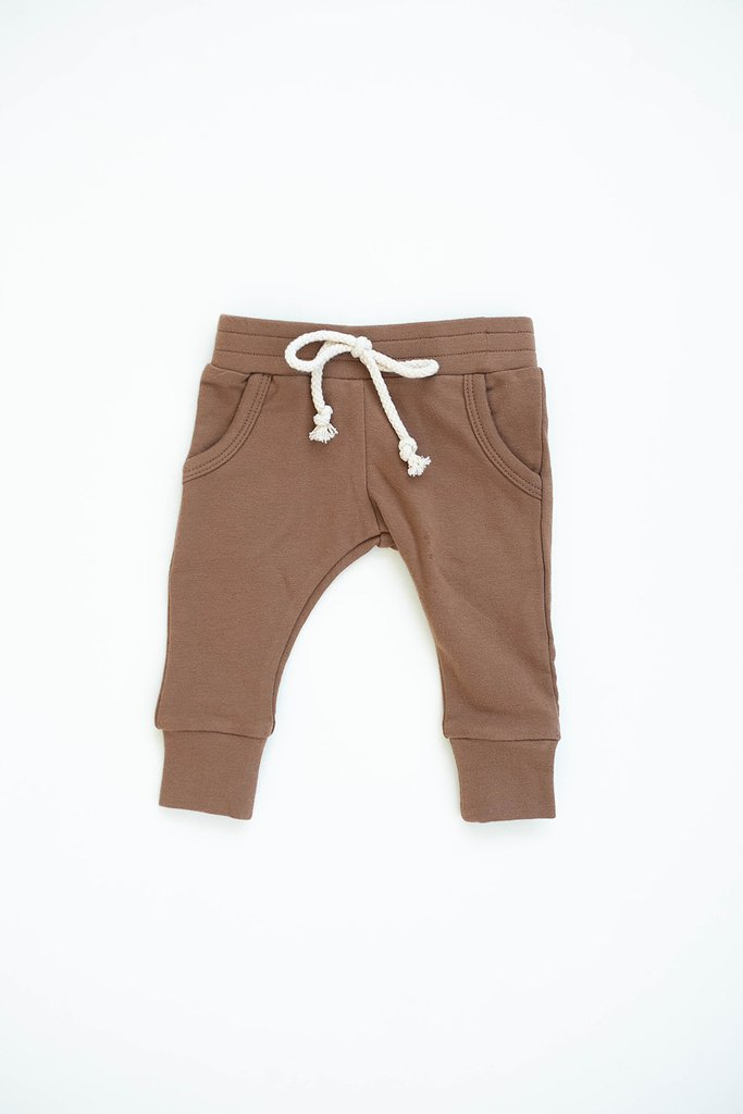 Camel French Terry Jogger Pant