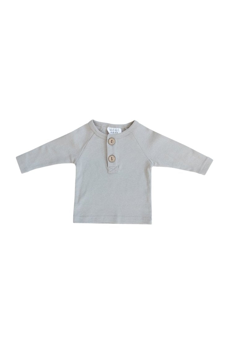 Ash Long Sleeve Button Top