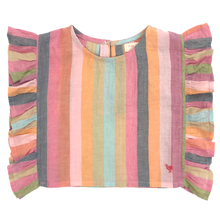 Load image into Gallery viewer, Multi Stripe Ingrid Top