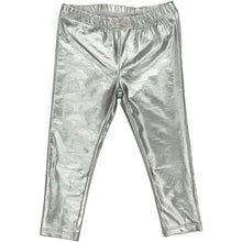 Load image into Gallery viewer, Silver Lame Legging