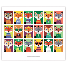 Load image into Gallery viewer, Owls and Foxes Guess Whooo?