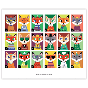 Owls and Foxes Guess Whooo?