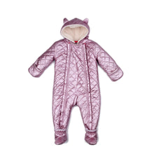 Load image into Gallery viewer, Metallic Pink Perry Snow Suit