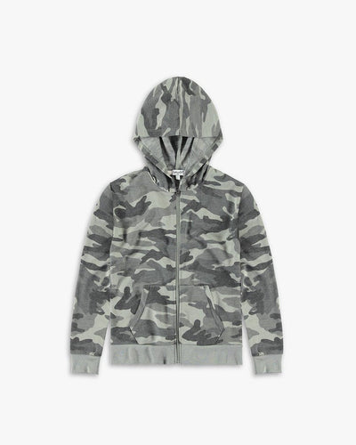 Girls Camo French Terry Hoodie