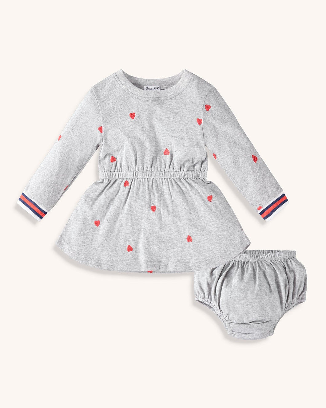 Baby Heart Dress Set