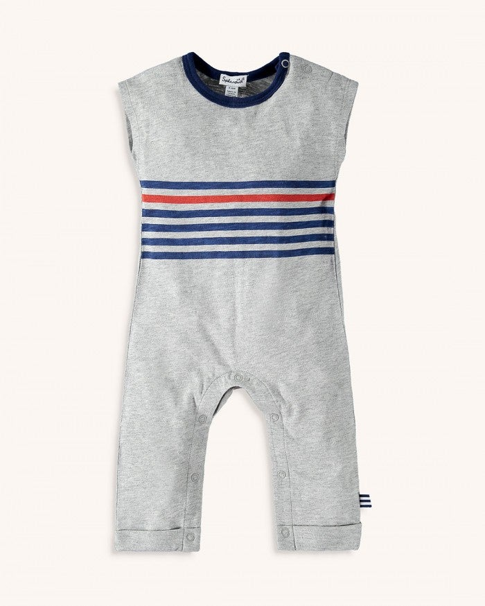 Screen Stripe Onesie
