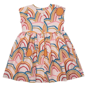 Pink Rainbows Winnie Dress