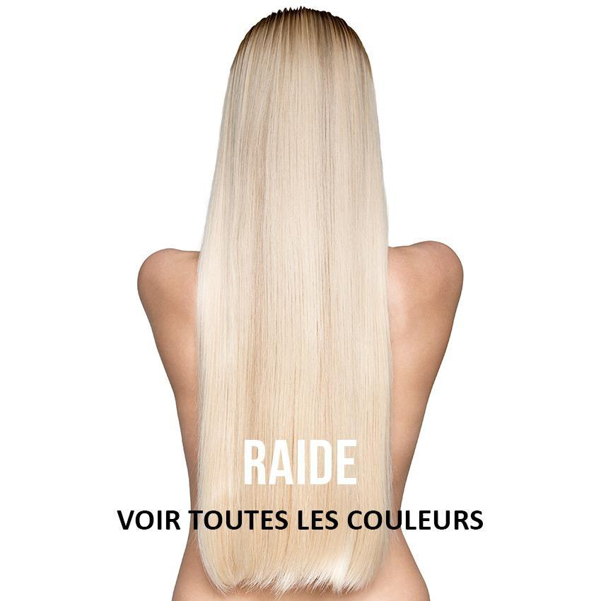 Clips Raides Couleur Unie