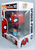 Yuri Lowenthal Signed Spider-Man (Spider-Punk) Game-Verse PX Previews Exclusive Funko POP Figure