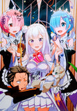 "English Cast Signed Re:Zero 15x21"" Poster"