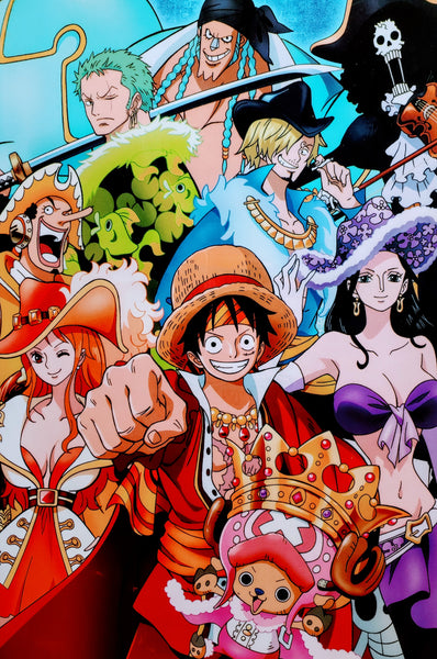 "One Piece Group Shot 15x21"" Poster"