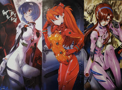 "Ryan Bartley Signed Neon Genesis Evangelion 15x21"" Posters"