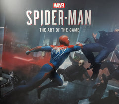Yuri Lowenthal and Tara Platt Signed Marvel's Spider-Man: The Art of the Game