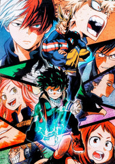 "My Hero Academia- Season 2 15x21"" Poster"