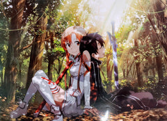 "Sword Art Online- Kirito and Asuna 15 x 21"" Poster"