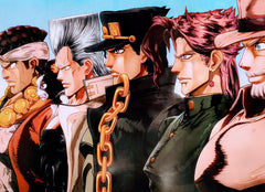 "JoJo Bizarre Adventure Part 3 Star Crusaders 15x21"" Poster"