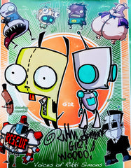 Rikki Simons Signed Print of Gir in both Forms
