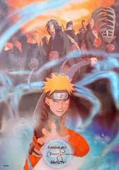 "Maile Flanagan signed Naruto Shippuden 15x21"" Poster"