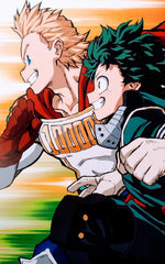 My Hero Academia- Deku and Mirio Foam Print