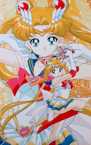 Sailor Moon- Solo Shot Foam Print
