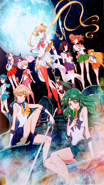 Sailor Moon Crystal Epic Group Shot Foam Print