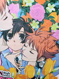 "Vic Mignogna and Todd Haberkorn signed Ouran High School Host Club ""Shenanigans!"" Wall Scroll"