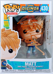 Vic Mignogna signed Digimon- Matt Funko Pop
