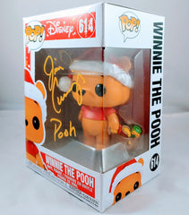 Jim Cummings signed Winnie the Pooh Funko Pop- Pooh Winter Edition