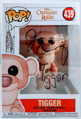 Jim Cummings signed Tigger Funko Pop Christopher Robin Movie Edition