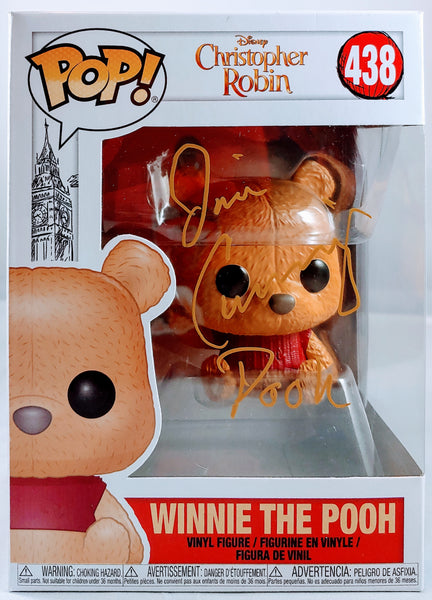 Jim Cummings signed Winnie the Pooh Christopher Robin Movie Edition Funko Pop
