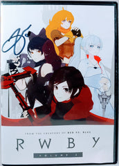 Arryn Zech signed Rooster Teeth- RWBY Vol.2 DVD