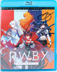Arryn Zech signed Rooster Teeth- RWBY Vol.4 (Blu-ray + DVD Combo Pack)