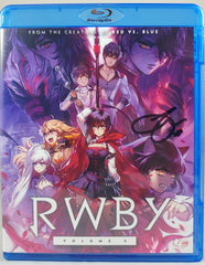 Arryn Zech signed Rooster Teeth- RWBY Vol.5 (Blu-ray)