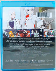 Arryn Zech signed Rooster Teeth- RWBY Vol.3 (Blu-ray + DVD Combo Pack)