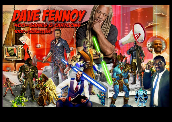 Dave Fennoy FaceTime Autograph Session August 28th, 2019 at 3:00PM PST