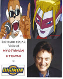 Digimon Video Chat Autograph Signing Featuring Derek Stephen Prince, Richard Epcar, and Paul St. Peter on Saturday December 14, 2019 at 1PM PT