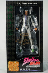 D.C. Douglas Signed JOJO Adventure 4th Season Kira Yoshiei size 16cm Figure