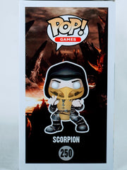 Patrick Seitz Signed Scorpion Mortal Kombat Funko POP Figure