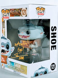 Steve Blum Signed Shoe (Boxtrolls) Funko Pop Figure