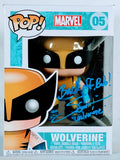 Steve Blum Signed Wolverine Marvel Funko Pop figure