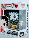 Sandy Fox Signed Betty Boop (Betty & Pudgy Monochrome Exclusive) Funko Pop Figure