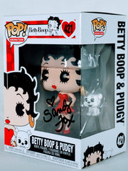 Sandy Fox Signed Betty Boop & Pudgy Funko POP Figure