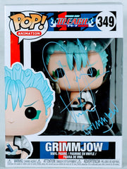 David Vincent Signed Grimmjow (Bleach) Funko POP Signed