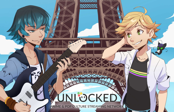 Miraculous Luka & Adrien Autograph Signing with Bryce Papenbrook and Andrew Russell  - Live on Tuesday May 28th at 3pm PST