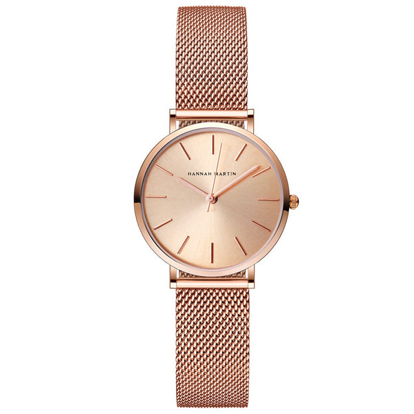 Andy Women Steel Belt Watch ROSE GOLD