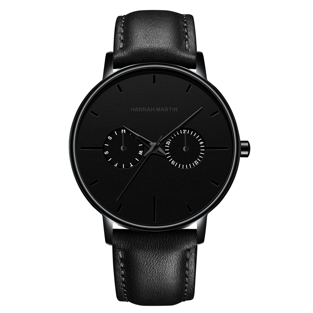 Avater All Black Leather