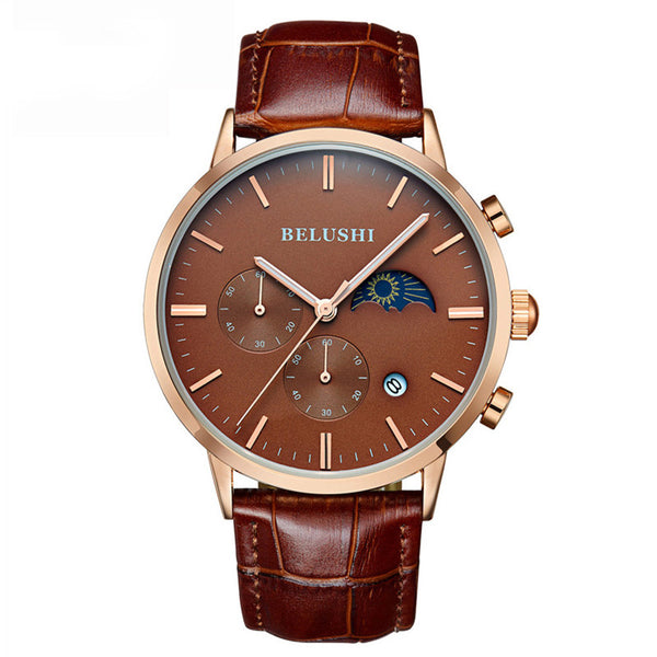 Rovty Moonphase BROWN/GOLD