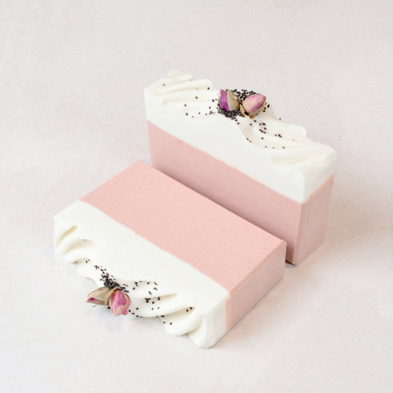 Pink Clay with Lavender & Rose Geranium Artisan Soap